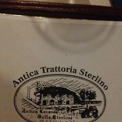 Photo taken at Antica Locanda Sterlino by Massimo M. on 7/22/2013