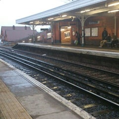 Photo taken at Norbury Railway Station (NRB) by Javier G. on 2/1/2013