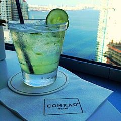 Photo taken at Conrad Miami by Andrew K. on 7/24/2013