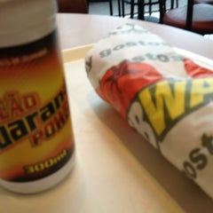 Photo taken at Subway by Fabio P. on 10/27/2012