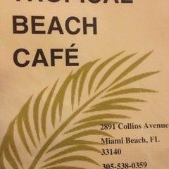 Photo taken at Tropical Beach Cafe by Frank R. on 10/28/2012