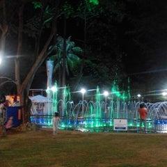 Photo taken at Dataran Shah Bandar Kuala Terengganu by Tun H. on 2/21/2015