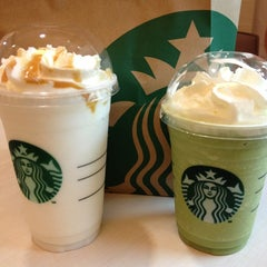 Photo taken at Starbucks (สตาร์บัคส์) by Waraporn on 2/19/2013