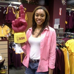 Photo taken at Sparky's Stadium Shop by Stephanie C. on 10/29/2012
