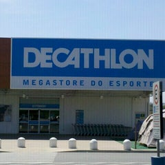 Photo taken at Decathlon by 'Cristy L. on 10/1/2012