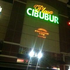 Photo taken at Plaza Cibubur by htimbat h. on 11/11/2012