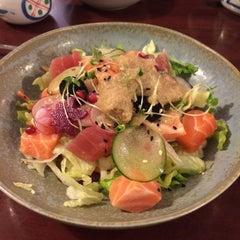 Photo taken at Yoshi Sushi by Aigul S. on 2/27/2015