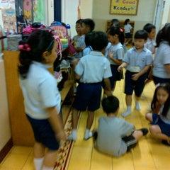 Photo taken at Mentari International School Bintaro by Mahendra Y. on 7/18/2013