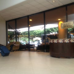 Photo taken at Crowne Plaza Los Angeles Airport by Ginger M. on 3/16/2013