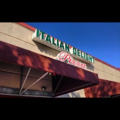 Photo taken at Italian Delight by Paige on 11/19/2012