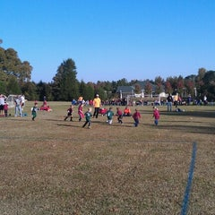Photo taken at YAKS Soccer Complex by Robert on 10/20/2012