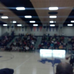 Photo taken at Theodore Roosevelt High School by Cherri S. on 1/26/2013