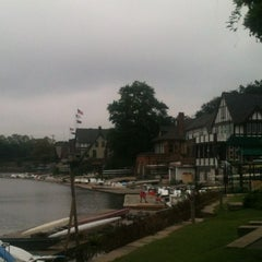 Photo taken at Boathouse Row by Michelle H. on 8/31/2013