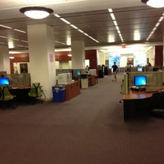 Photo taken at Earl Gregg Swem Library by Alexander M. on 10/23/2012