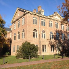Photo taken at James Blair Hall by Alexander M. on 10/23/2012