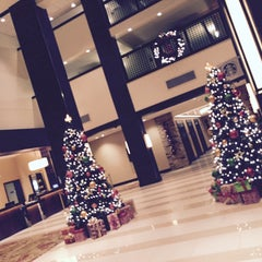 Photo taken at Houston Marriott North by Pamela R. on 11/24/2015
