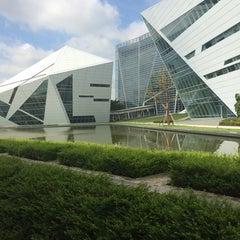 Photo taken at มหาวิทยาลัยกรุงเทพ (Bangkok University) by Kimheegate on 8/25/2014