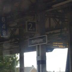 Photo taken at Ramsgate Railway Station (RAM) by David T. on 10/1/2012