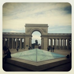 Photo taken at California Palace of the Legion of Honor by k@t on 3/31/2013