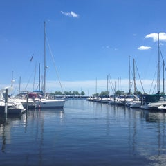 Photo taken at McKinley Marina Center Docks by Beth G. on 6/16/2013