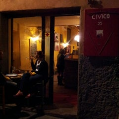 Photo taken at Civico 25 by Pier Giorgio S. on 10/5/2012