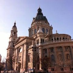 Photo taken at Szent István Bazilika by John D. on 3/2/2013
