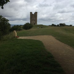 Photo taken at Broadway Tower by James V. on 8/1/2015