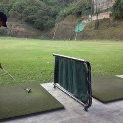 Photo taken at La Cinta Golf driving range by Alee P. on 12/8/2012