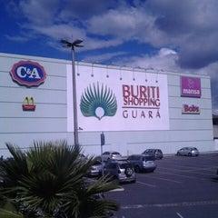 Photo taken at Buriti Shopping by Fernando F. on 5/31/2013