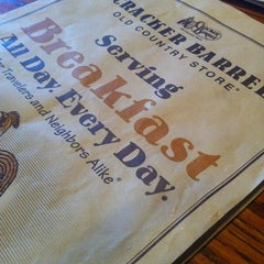 Photo taken at Cracker Barrel Old Country Store by eZra b. on 1/6/2013