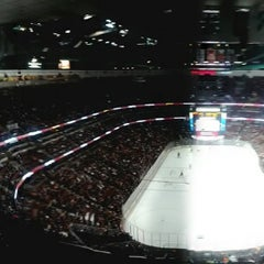 Photo taken at honda center section 422 by Frosty O. on 1/31/2014
