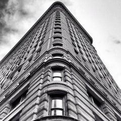 Photo taken at Flatiron Building by Dave O. on 2/15/2013