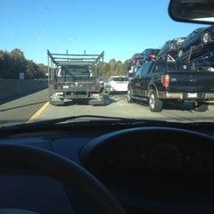 Photo taken at Interstate 85 by Savannah L. on 11/1/2012