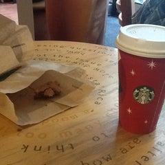 Photo taken at Starbucks by Alfiya R. on 11/8/2012