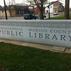 Photo taken at Indianapolis Marion County Public Library - Central Branch (IMCPL Central) by Dan 4. on 4/13/2013