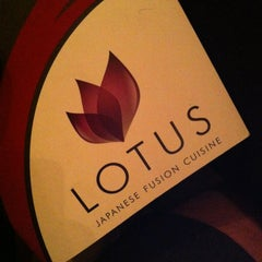Photo taken at Lotus Japanese Fusion Cuisine by David G. on 1/9/2013