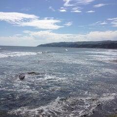 Photo taken at Caleta Duao by Osvaldo Andres S. on 9/29/2012