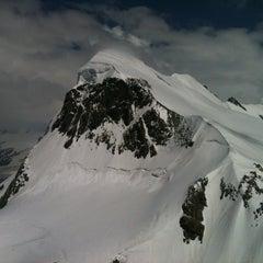 Photo taken at Matterhorn Glacier Paradise by Olya I. on 7/21/2013