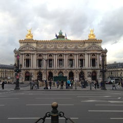 Photo taken at Place de l'Opéra by Aurélien M. on 5/13/2013