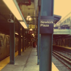 Photo taken at MTA Subway - Newkirk Plaza (B/Q) by Darius A. on 8/20/2013