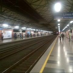 Photo taken at METRO - Estacion Poblado by Triveni S. on 9/22/2012