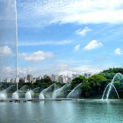 Photo taken at Parque Ibirapuera by Alexandre L. on 6/28/2013