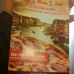 Photo taken at Dalia's Pizza, Pasta and Subs by Martini M. on 4/17/2016