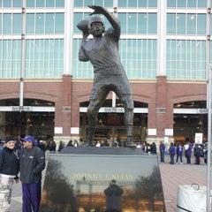 Photo taken at M&T Bank Stadium by Mr. W. on 11/5/2012