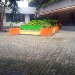 Photo taken at Fakultas Ekonomi by Tereshia K. on 9/27/2014