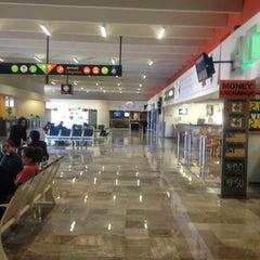 Photo taken at Aeropuerto Manuel Márquez de León (LAP) by Christian V. on 1/8/2013