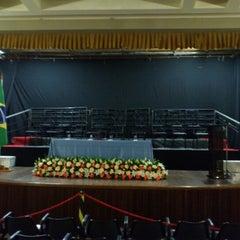 Photo taken at Teatro Monte Calvário by Weber J. on 10/25/2012