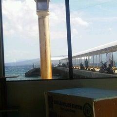 Photo taken at Sibulan Pier (Ferry Terminal) by Donahbelle R. on 4/2/2013