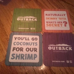 Photo taken at Outback Steakhouse by Dave O. on 8/11/2013