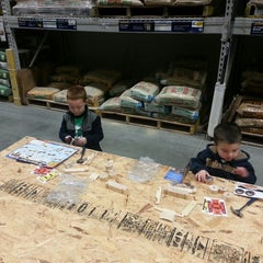 Photo taken at Lowe's Home Improvement by Daniel H. on 3/9/2013